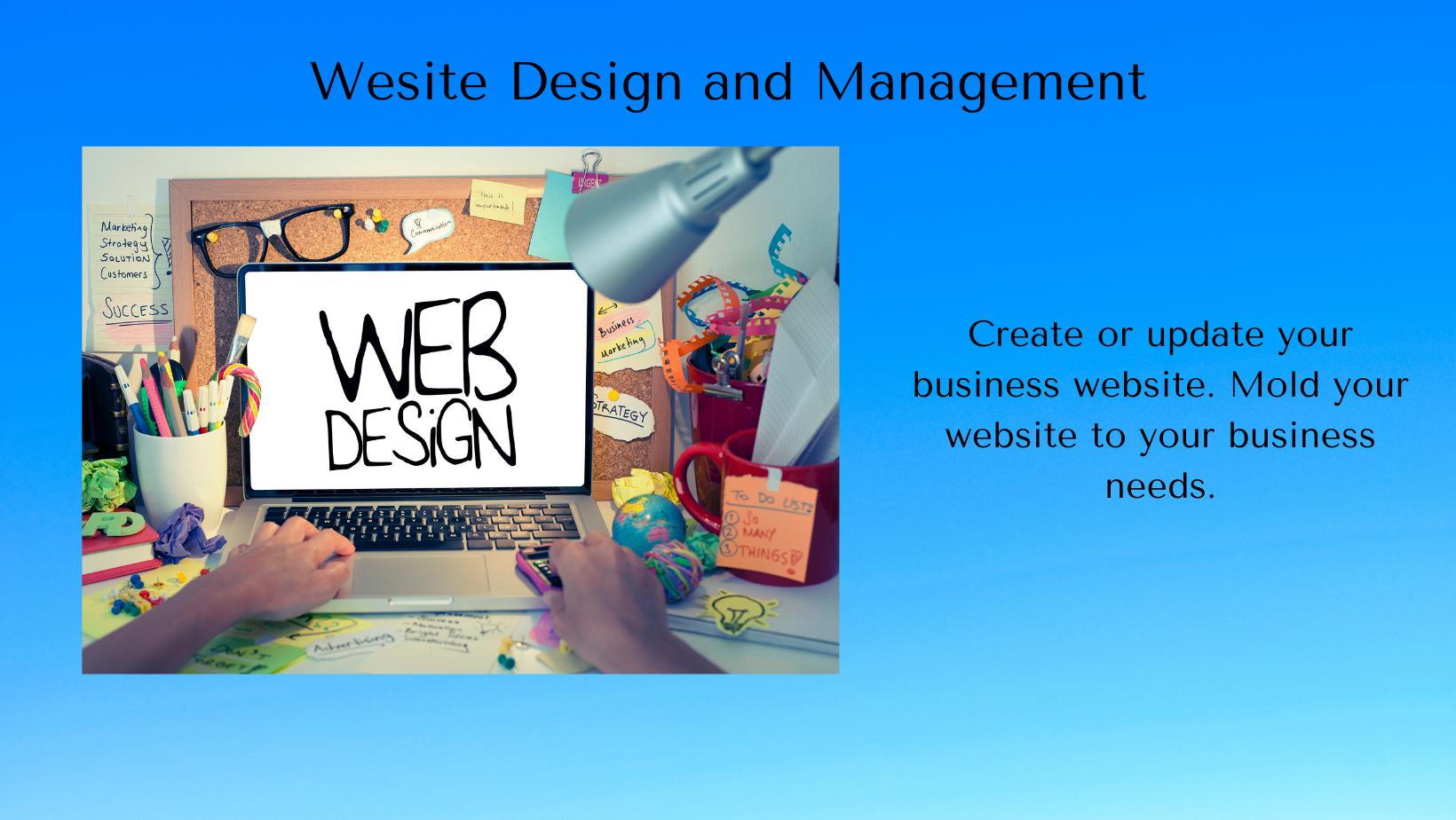 Website Design and Management